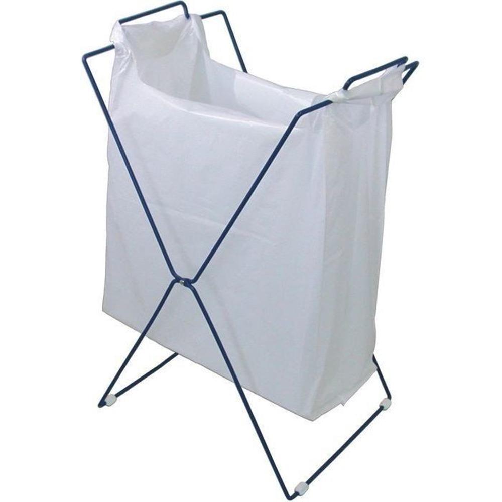 出群 日本クリンテック レジスターバッグスタンド ブルー メーカー直送 買い物袋スタンド