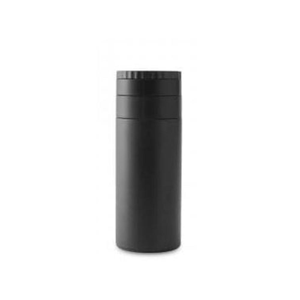 アイリスオーヤマ 保温 保冷 ステンレスケータイボトル SB-Q350 クイックオープン 定番 10%OFF マットブラック