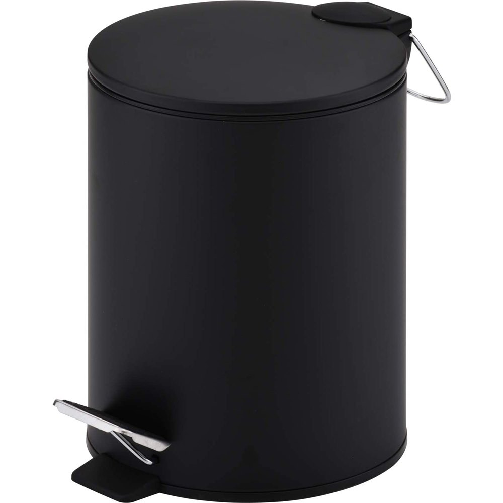 和平フレイズ マイトラッシュ2 ペダル式ペール 公式ストア ゴミ箱 MJ-0668 待望 5L ブラック