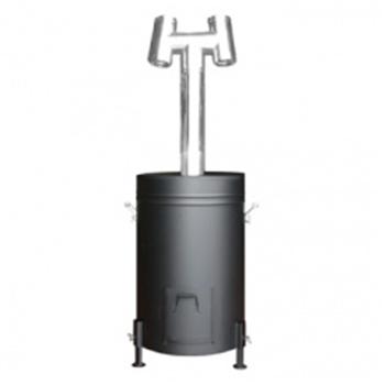 HONMA ホンマ製作所 燻炭工房 (容器型燻炭器) くん炭器 X0308 【○】