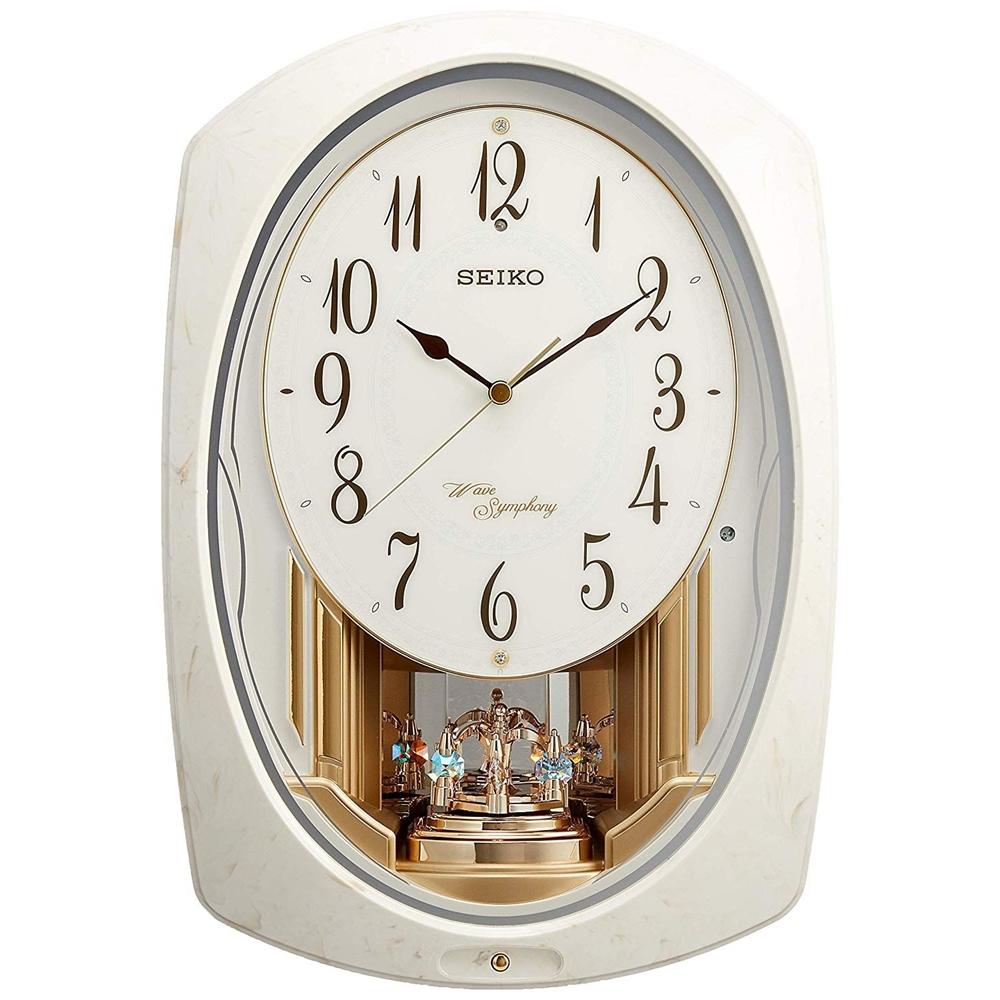 SEIKO セイコークロック 電波 からくり掛け時計 AM261A