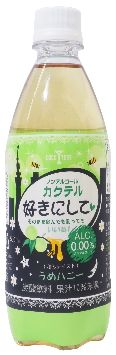 Kimura beverages non-alcoholic cocktails like the moan honey 500 ml pet x 24 book ( 4972842375553 × 24 ) 500ml×24 book