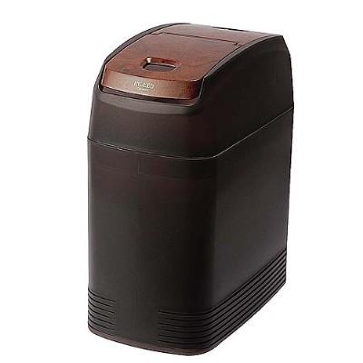 お気にいる CARMATE カーメイト インディード SALE INDEED 木目 DE137 スリムゴミ箱おもり付