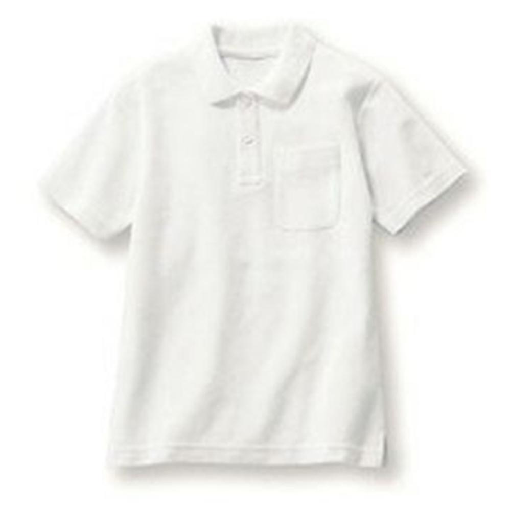 ベイリー 白色 学童ポシャツ 半袖 祝開店大放出セール開催中 100cm 卓越 VR1200-100