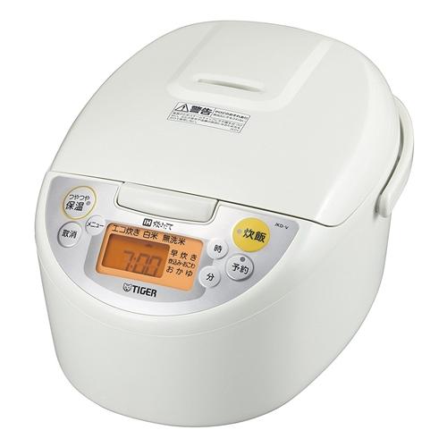 タイガー IH炊飯ジャー「炊きたて」 1升 JKD-V180W ホワイト