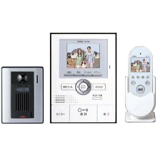 アイホン テレビドアホン ワイヤレスセット1.5タイプ ROCOワイドポータブル KE-77