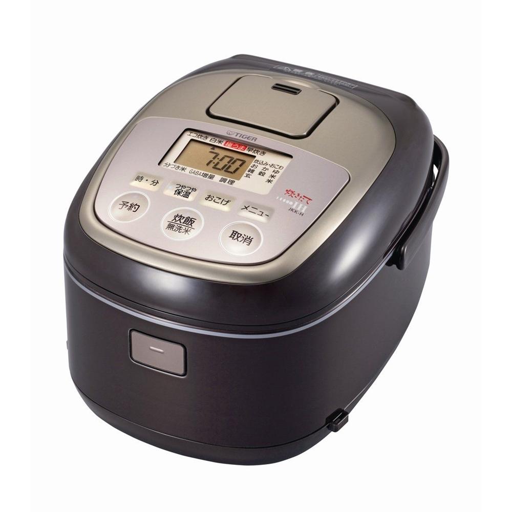 タイガー IH炊飯ジャー(土鍋コーティング) 1升炊き JKK-H180 TC(クリアーブラウン)