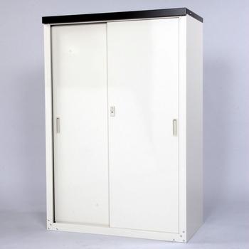GL グリーンライフ 家庭用収納庫 132cm HS-132 【Q2】【○】