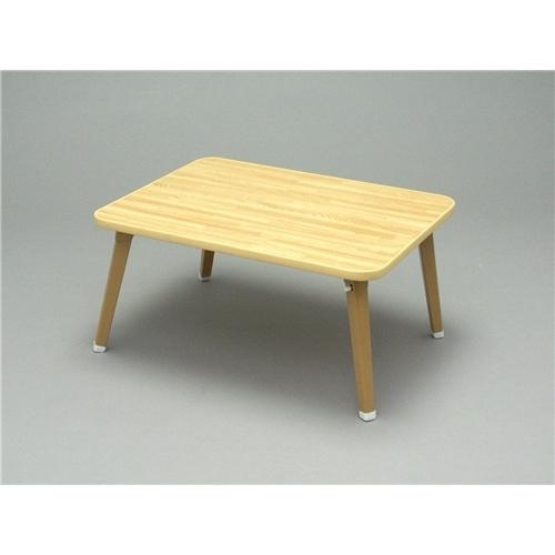 折り畳みテーブル リビングテーブル ミニ 長方形 武田コーポレーション 折りたたみテーブル ちゃぶ台 持ち運び 軽量 アウトドア ローテーブル W60×D45×H29cm OTB-6045NA