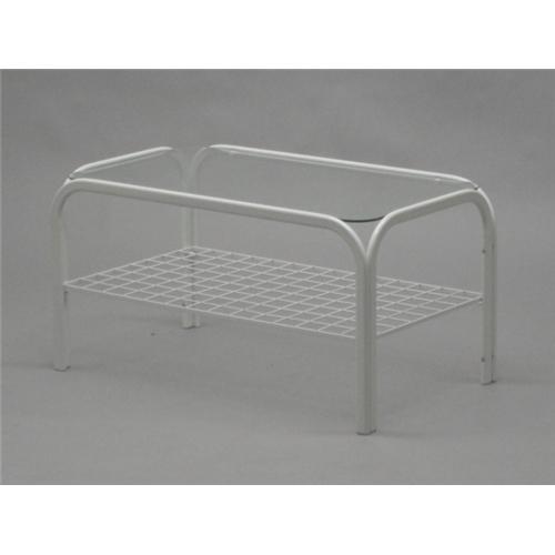 武田コーポレーション ガラステーブル ホワイト CW1112-00WH