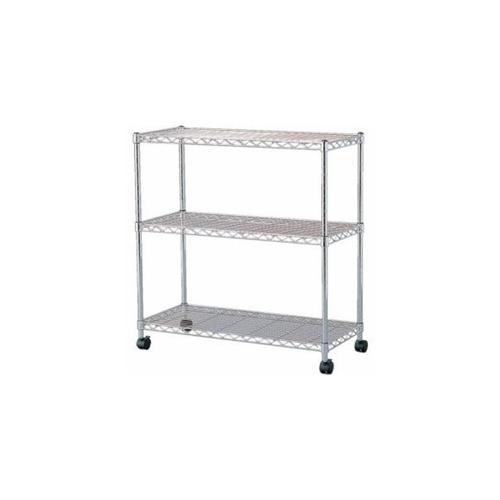 IRIS Ohyama IRIS steel rack metal mini (with casters) 800 × 350 × 830 MTO-8008C (546624)