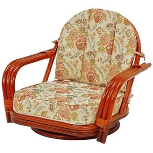 萩原 籐回転座椅子 RZ-931