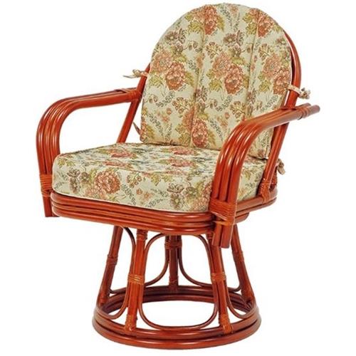 籐回転座椅子 RZ-934 萩原