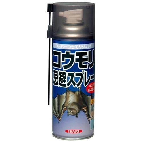 NEW売り切れる前に☆ イカリ消毒 購入 スーパーコウモリジェット 忌避スプレー 420ml