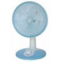 TEKNOS テクノス 18cm desk electric fan aqua blue TI-1881(A)