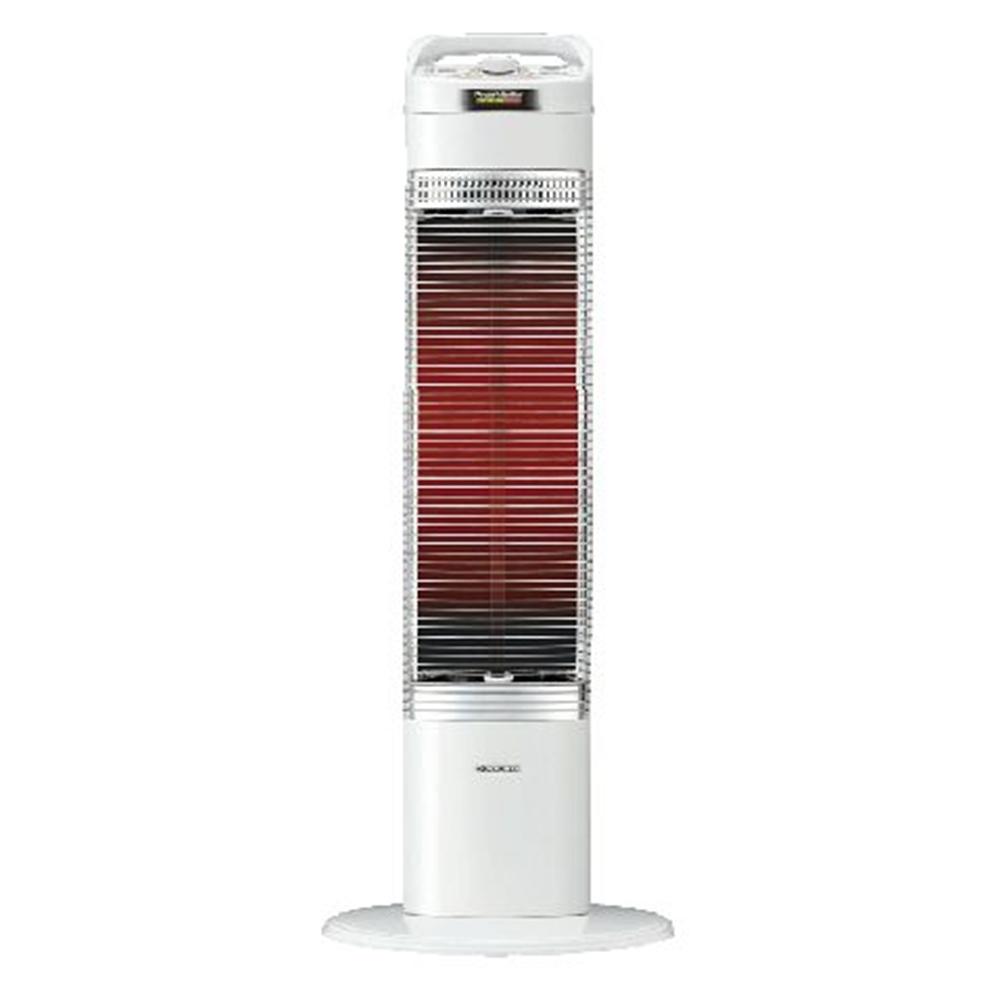 コロナ コアヒートスリム ホワイト 遠赤外線電気ストーブ 電気ストーブ DH-919R(W)