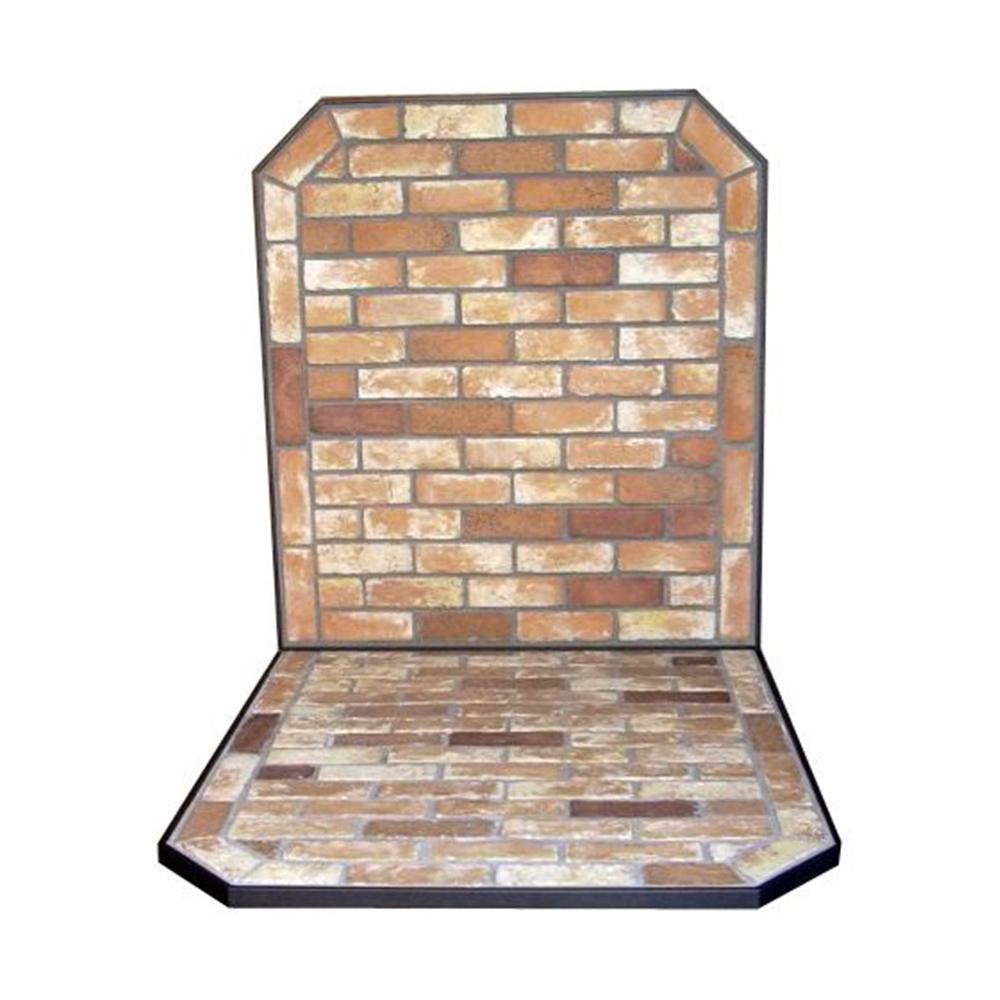 【受注生産】HONMA ホンマ製作所 ブロック炉台 壁面セット CB-300 501314006 【Q2】【代引不可】