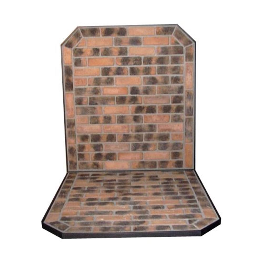 【受注生産】HONMA ホンマ製作所 ブロック炉台 壁面セット CB-350 501314007 【Q2】【代引不可】