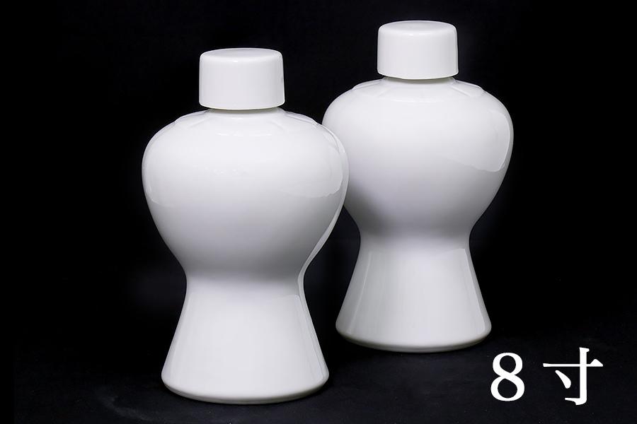 国産 神棚 神社■2本組 瓶子■一対 8寸高さ24.5cm 【特大】