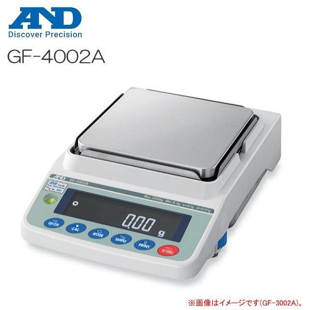 A&D エー・アンド・デイ 汎用電子天びん GF-4002A ひょう量 4200g ベーシック型 最小表示 0.01g《北海道、沖縄、離島は別途送料がかかります。》《代引きのご利用は出来ません。》