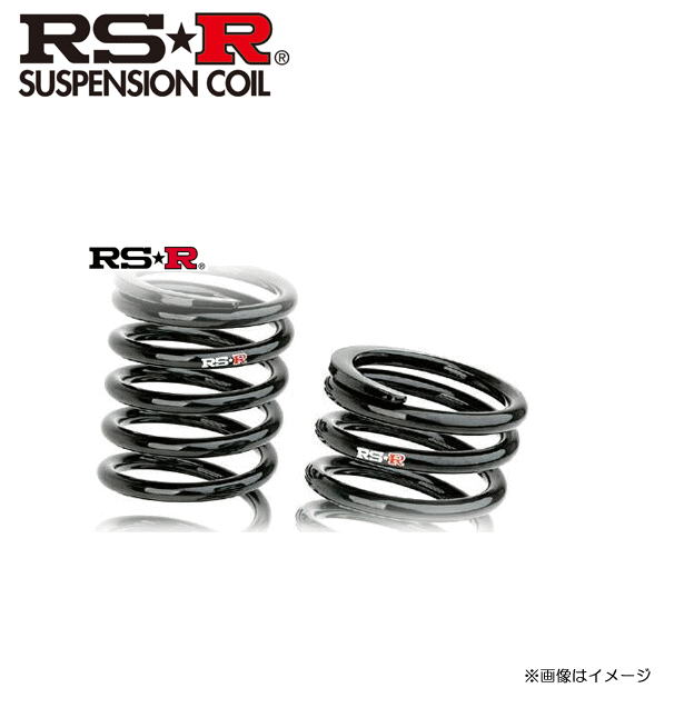 ☆RS-R ダウンサスペンション HONDA ヴェゼル(RU1)RS ホンダセンシング RS-R :DOWN[H311D]{送料無料(一部地域を除く)}≪ローダウン【RSR/RS★R/RS☆R】≫