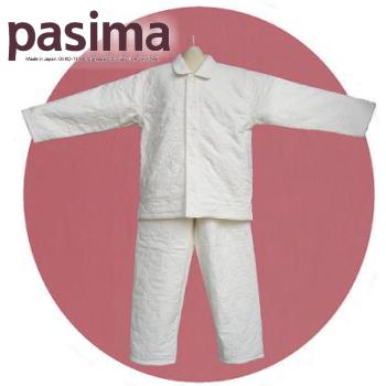 パシーマの子供用パジャマ〔130〕男女兼用/左上合わせ 送料無料 龍宮 エコテックス規格100認証 日本製