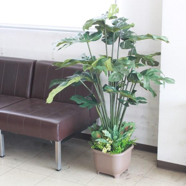 インテリアグリーン・現代の進化した人工観葉植物 フェイクグリーン スプリットフィローTB-994 115インテリアグリーン snb 造花 シルクフラワー CT触媒