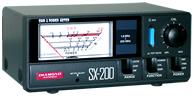 ダイヤモンド SX-200 SWR・パワー計1.8~200MHz SX200