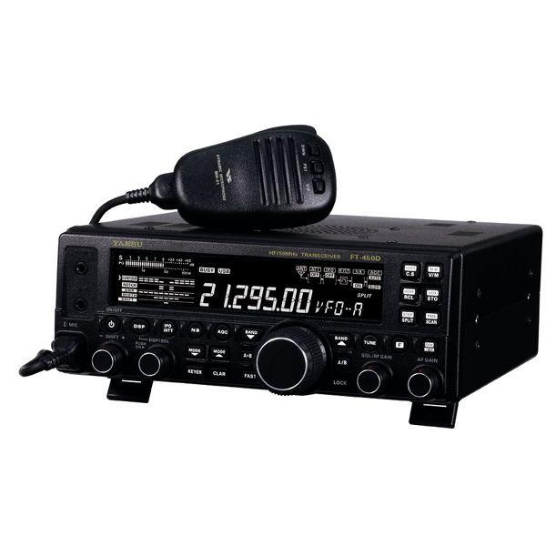 ヤエス(八重洲無線) FT-450Dシリーズ HF/50MHz帯 本格派コンパクトHFトランシーバー