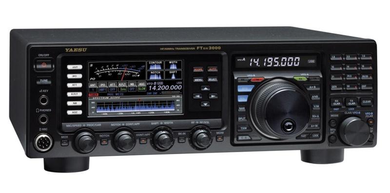 ヤエス(八重洲無線) FTDx3000 HF/50MHz帯トランシーバー