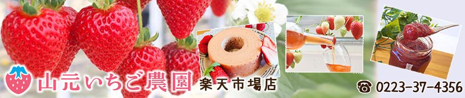 山元いちご農園 楽天市場店:朝摘み完熟いちごをはじめ、いちごを使った加工品を販売しています