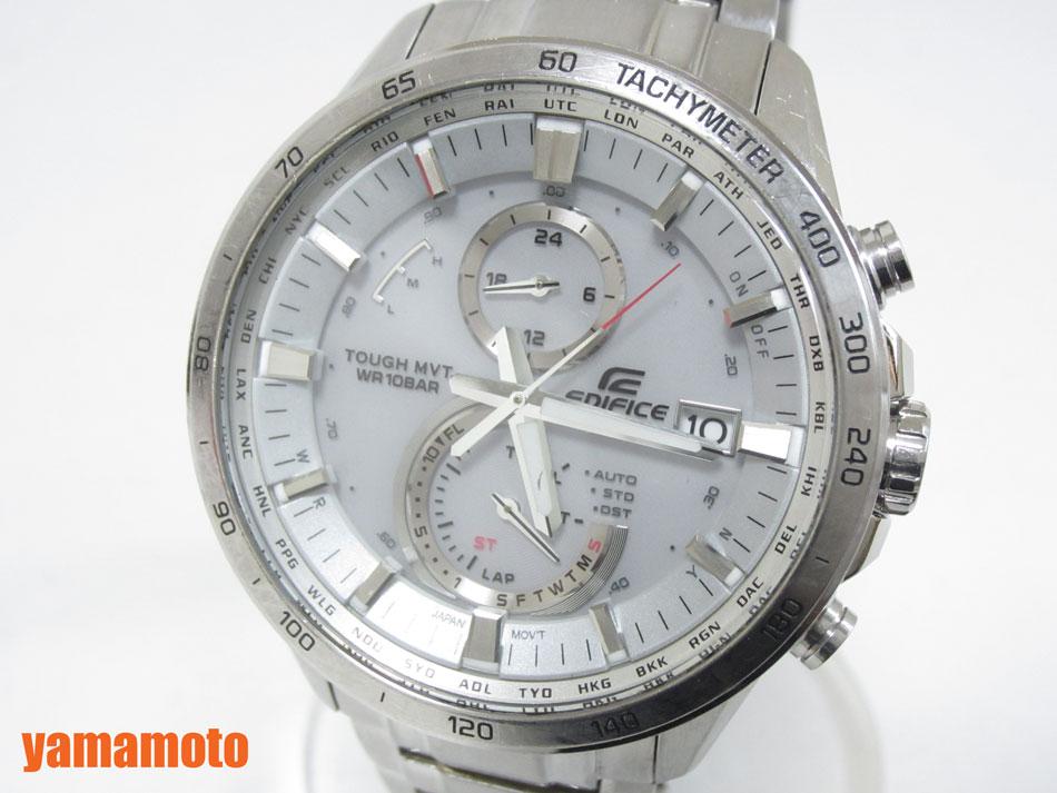 CASIO カシオ EDIFICE エディフィス 腕時計 メンズウォッチ 電波ソーラー EQW-A1400D-7AJF【中古】