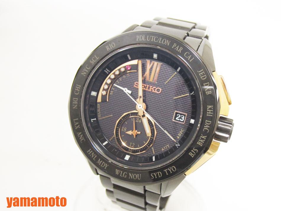 SEIKO セイコー BRIGHTZ ブライツ ソーラー電波 メンズウォッチ 腕時計 バーゼルワールド 500本限定 SAGA115 8B54-0AJ0【中古】