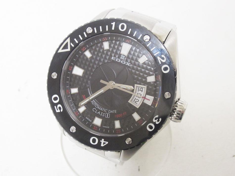 EDOX エドックス CLASS1 クラス1 メンズウォッチ 腕時計 自動巻き デイト 80079【中古】