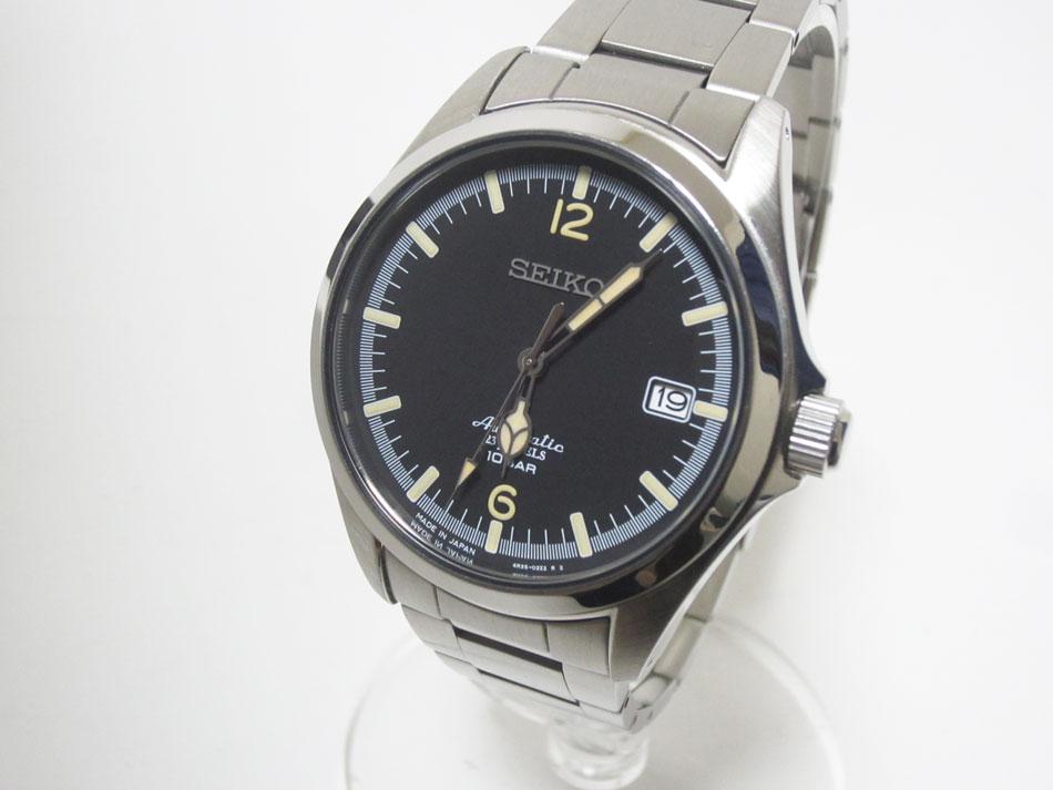 SEIKO×Tic TAC セイコー×ティックタック ついに再販開始 35周年記念モデル コラボ メンズウォッチ 腕時計 即納最大半額 4R35-02R0 自動巻き 美品 AT SZSB006 中古