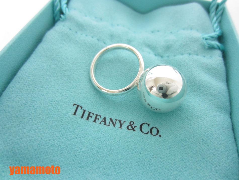 buy popular 09e02 394f9 TIFFANY&CO. Tiffany HardWear ティファニー ハードウェア ボールリング 指輪 シルバー AG925 10号 美品  【中古】|ブランドショップ山本