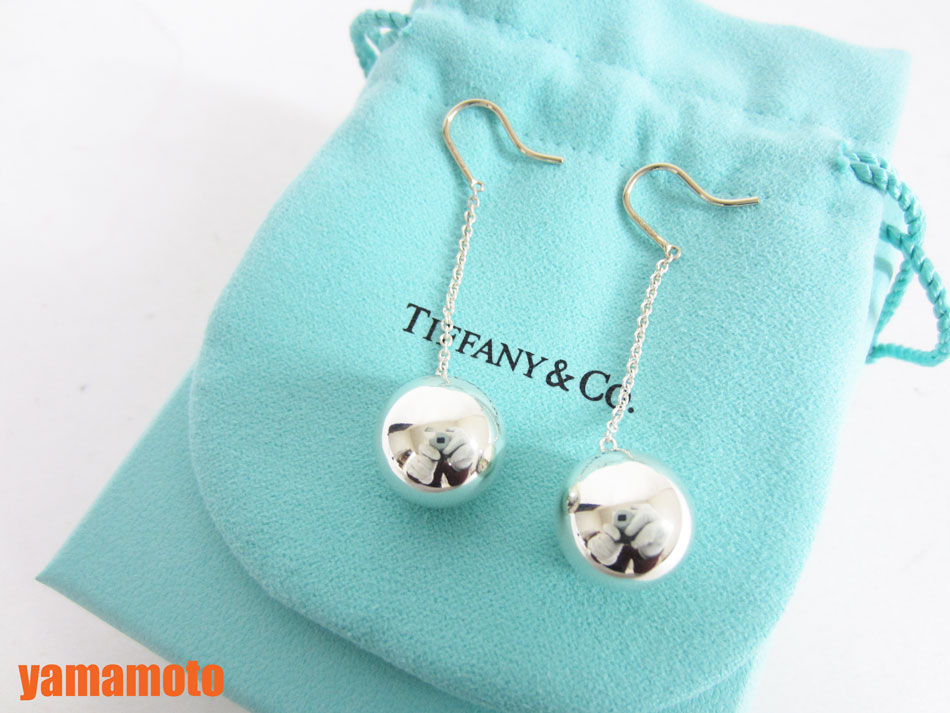 purchase cheap 651ef 39988 TIFFANY&CO. Tiffany HardWear ティファニー ハードウェア ボールフック ピアス AU925 シルバー 美品  【中古】|ブランドショップ山本