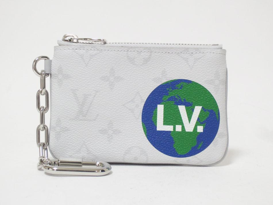 レビューを書けば送料当店負担 激安 LOUIS VUITTON ルイヴィトン モノグラム ホワイト ジップド ポーチPM コインケース 中古 新品 レシート付き カードケース M67809