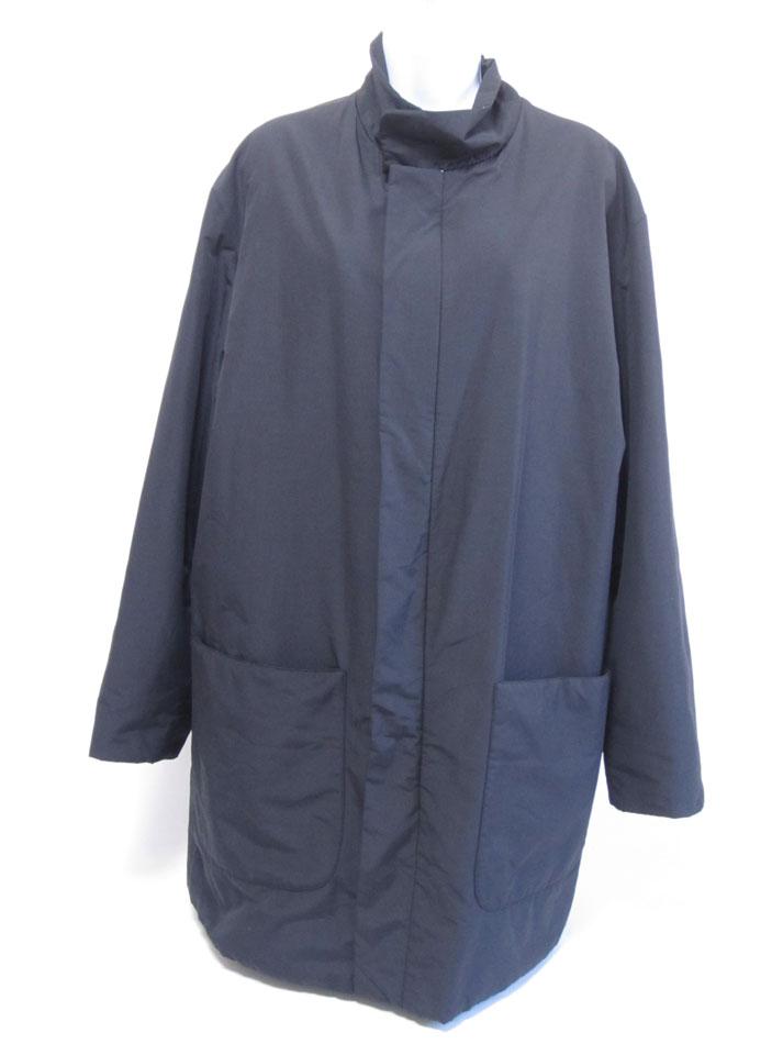 FENDI フェンディ メンズ コート 薄手 アウター ポリエステル ブラック サイズ:50 美品【中古】