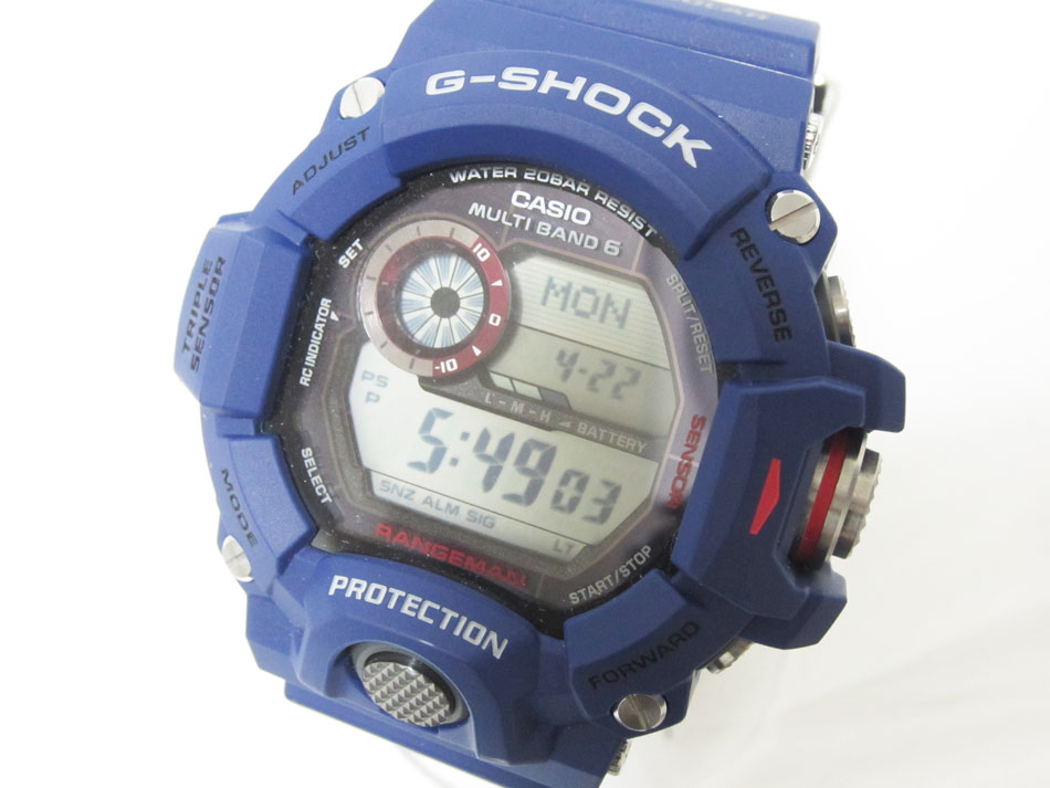 premium selection b4c05 e0395 CASIO Casio G-SHOCK G-Shock RANGEMAN range man tough solar radio time  signal men watch navy foreign countries model GW-9400NV-free article