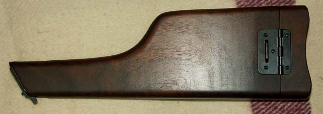 再入荷 NEW ARRIVAL マルシン ウォルナット製 時間指定不可 M712用木製ホルスターストック