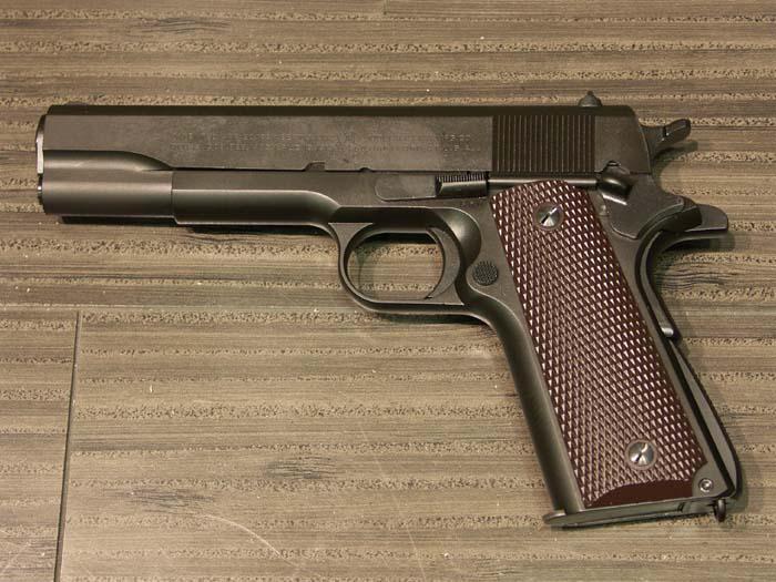CAW M1911A1 HW(発火モデル)