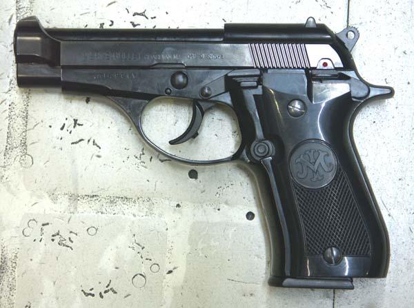 マルシン M84 ABS 2層ブラックメッキ