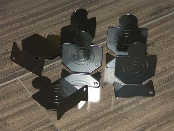 鉄板製 金属製標的 達人くん ◆在庫限り◆ ランキングTOP5