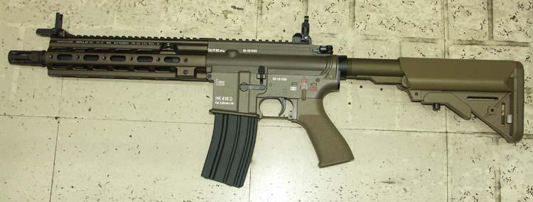 マルイ HK416 デルタカスタム (タンカラー)(次世代.ver)