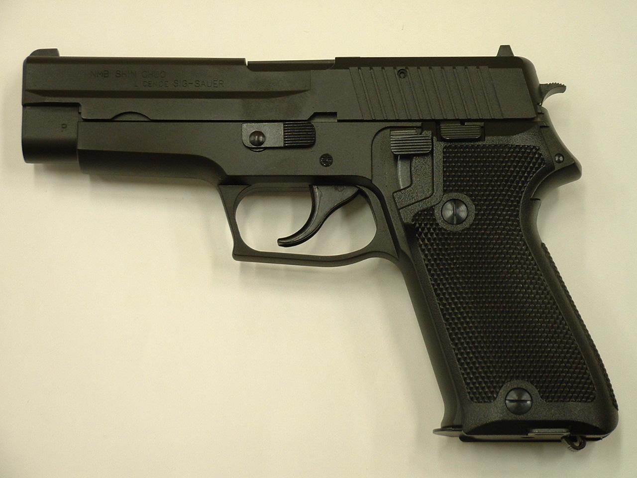 タナカ 9ミリ拳銃(P220)陸上自衛隊 エヴォリューション HW