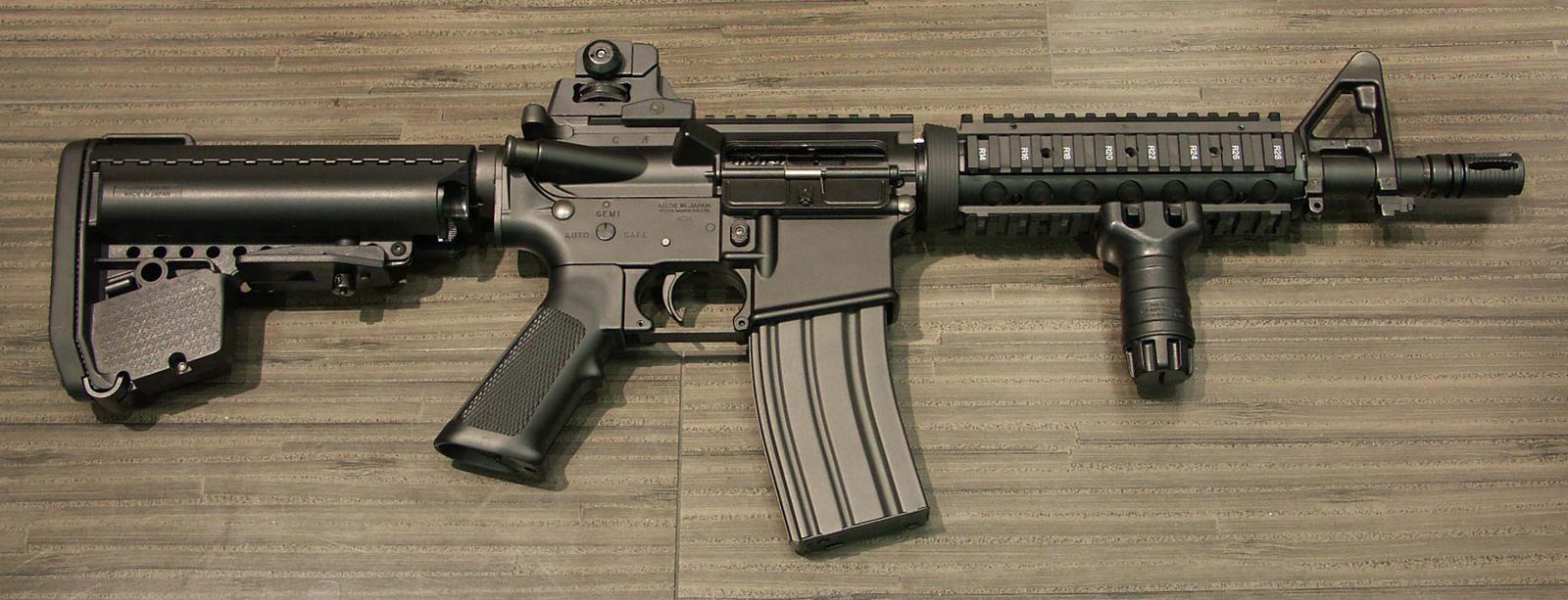 マルイ M4 CQB-R BK (次世代.ver)