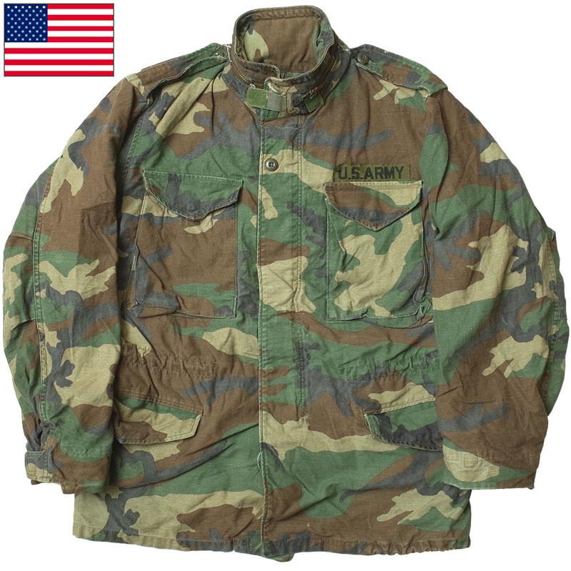 sale 米軍 M-65 フィールドジャケット ウッドランドカモ USED