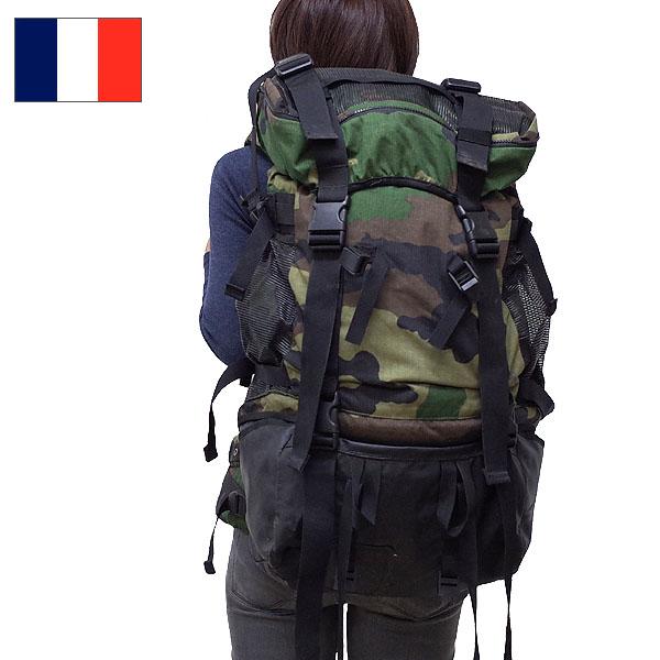 セール中 フランス軍 アルパインリュック 【CCEカモ】【送料無料・沖縄・離島除く】