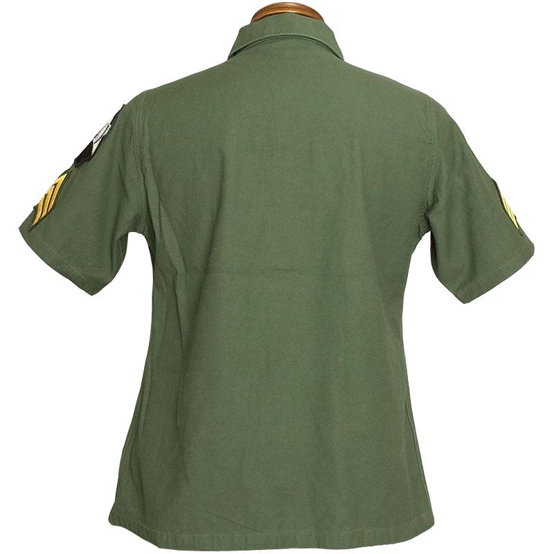 United States Armed Forces type OG-107 F Teague shirt short sleeves John Lennon Model